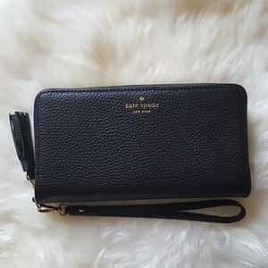 Kate Spade Chester Street Brigitta Wallet - Black